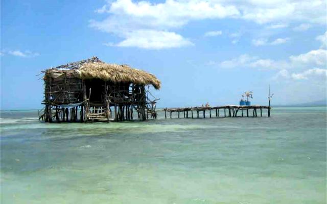 floyd's pelican bar jamaica  gin and tonic bar