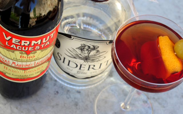 Vermouth marianito siderit gin