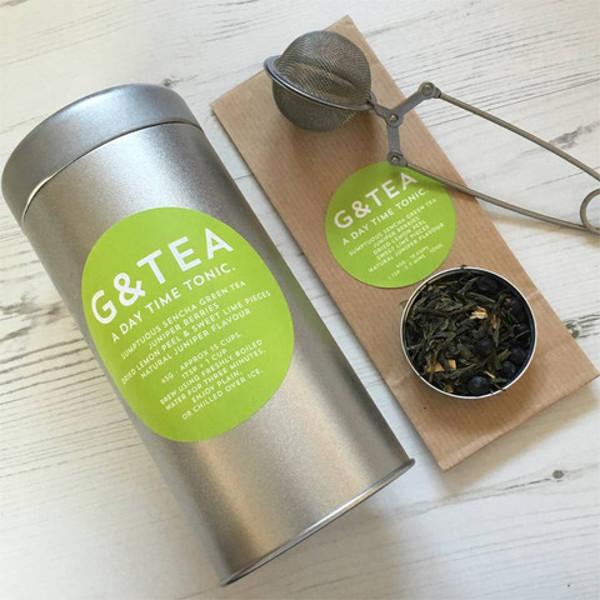 G&Tea gin and tonic leaves tea