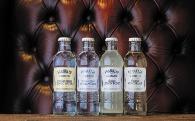Franklin and sons indian tonic water range