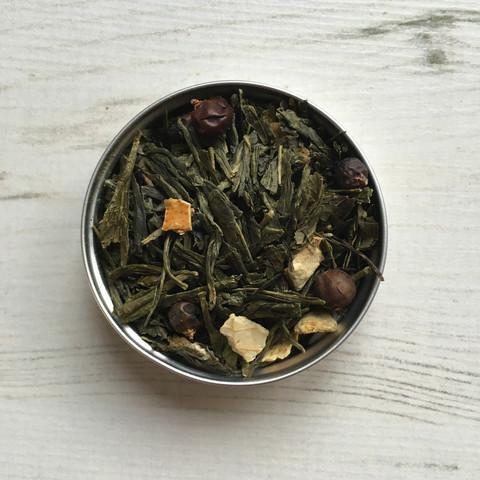 PostTea gin and tonic tea leaves