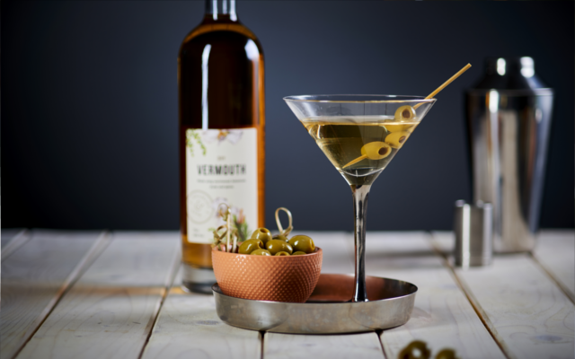 classic dry martini