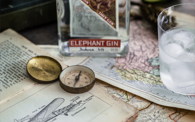 Elephant Gin's design and branding reflects its African inspiration.