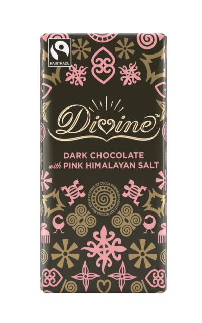 divine pink himalayan salt chocolate