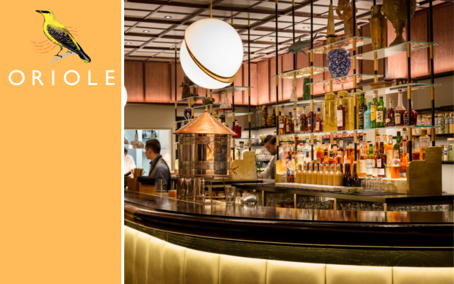 Oriole london gin joint bar