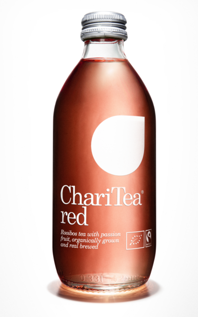 ChariTea red drink