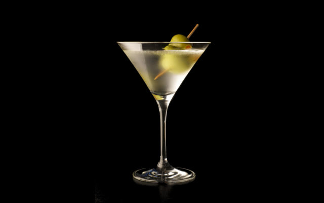 Olive dirty martini