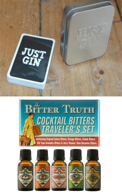 Bitters set Bitter truth and just gin playing cards