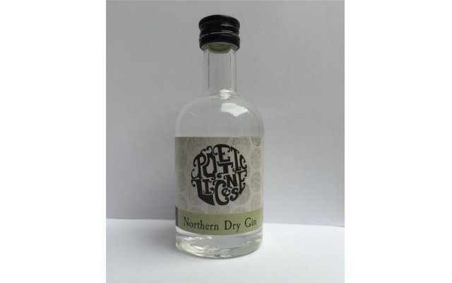 Poetic license northern dry gin miniture