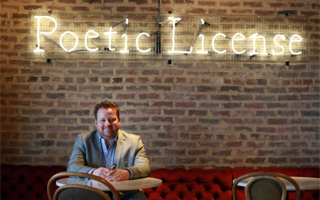 Mark Hird, founder and owner of Poetic License