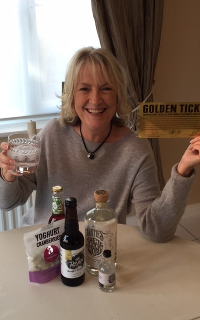 Golden ticket winner craft gin club