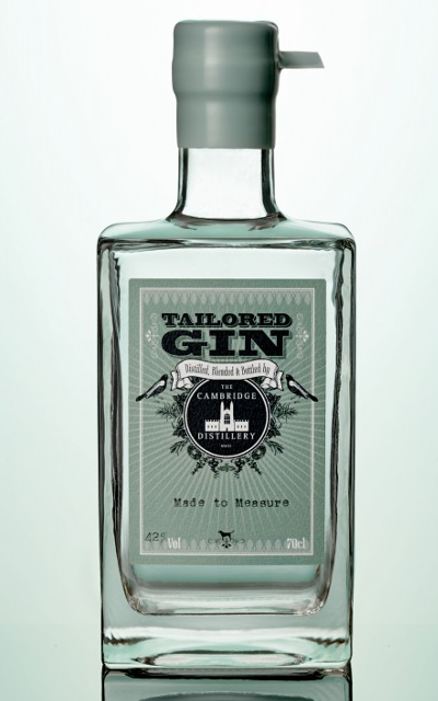 Tailored Gin from Cambridge Distillery Company