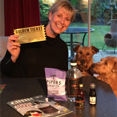 Gill Banks golden ticket november winner