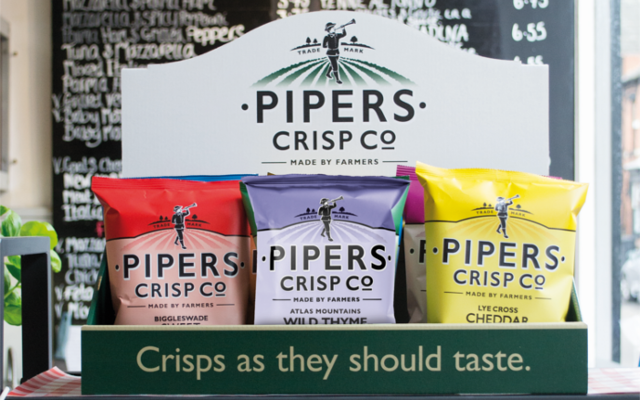 Pipers crisp co flavour range