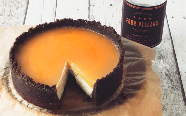 Four pillars gin cheesecake