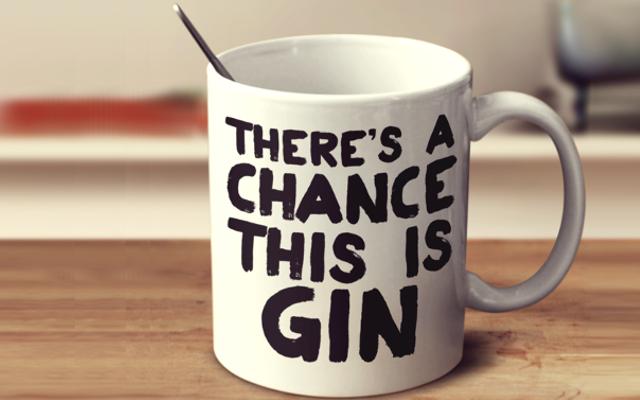Gin lover mug