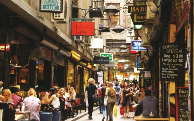 Chapel Street shopping Australia Melbourne