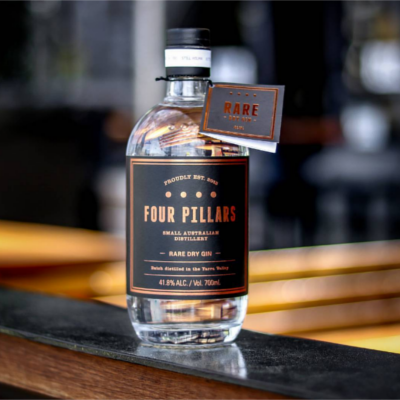 Four Pillars Australian Gin Bottle
