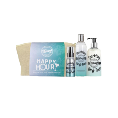 Sparkling Gin and Tonic Body Wash Set Happy Hour Present Gift