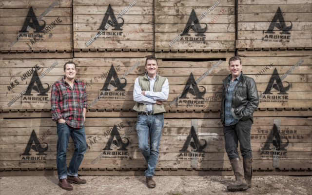 Arbikie gin distillery brothers