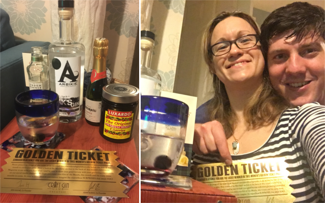 December Golden Ticket Ginstagram Winner Arbikie