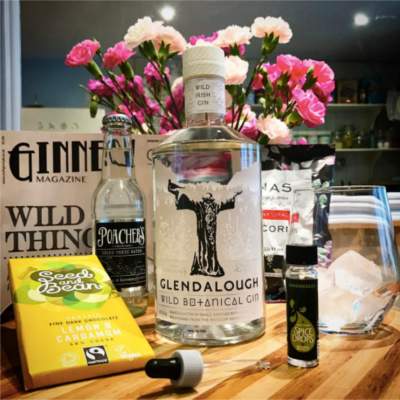 This month's Glendalough Wild Botanical Gin, captured by member Serena.