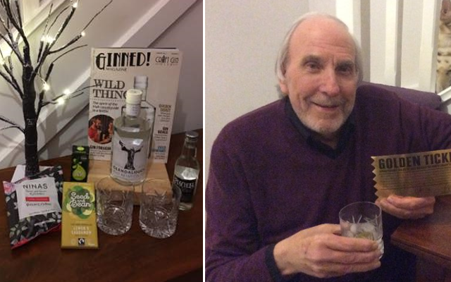 Golden gin ticket winner january glendalough craft gin club ginned
