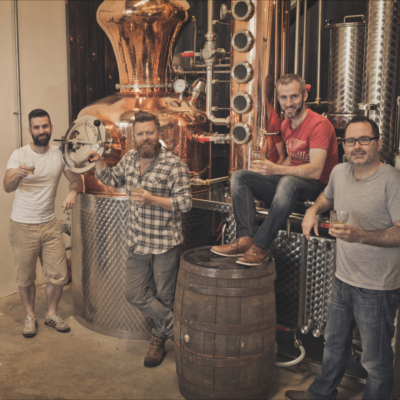 Glendalough distillery gin team