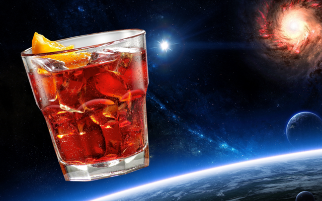 Space age negroni