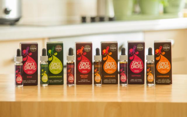 Spice drops flavour range