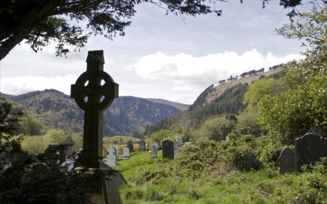 Cross of St Kevin Glendalough Ireland