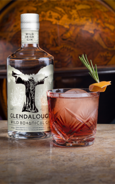 Wild Negroni with Glendalough Gin