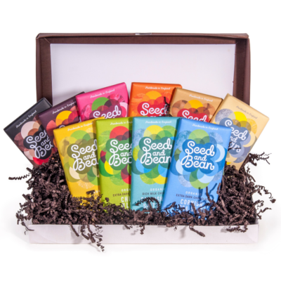 Seed and bean chocolate hamper