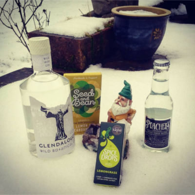 Glendalough gin and extras in January box