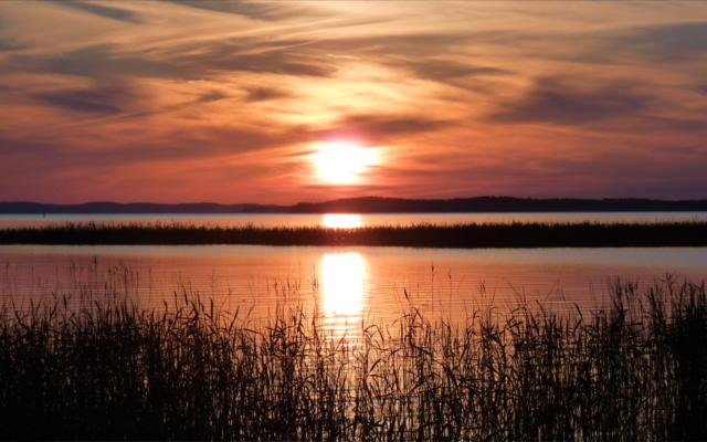 Sunset in Finland Kalevala Gin