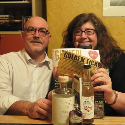 Ginned golden ticket winners craft gin club