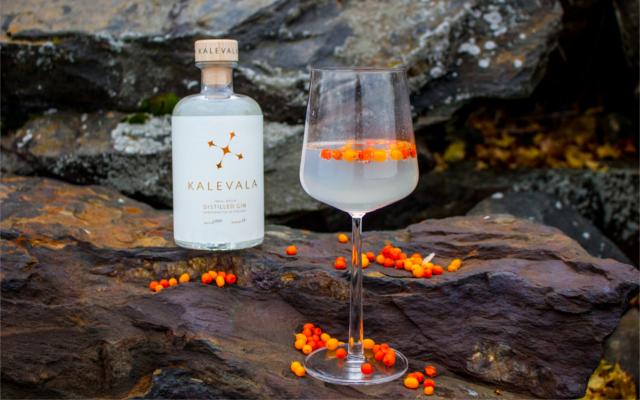 Kalevala gin and tonic