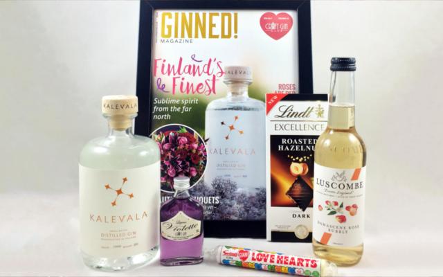 February ginned magazine craft gin club kalevala gin box