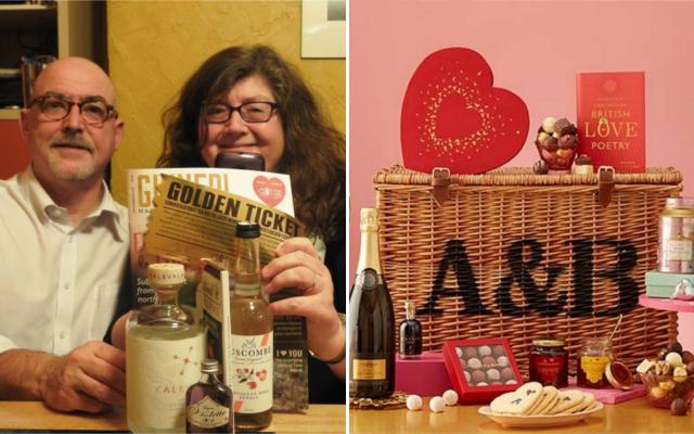 Ginned magazine Kalevala gin and valentines hamper