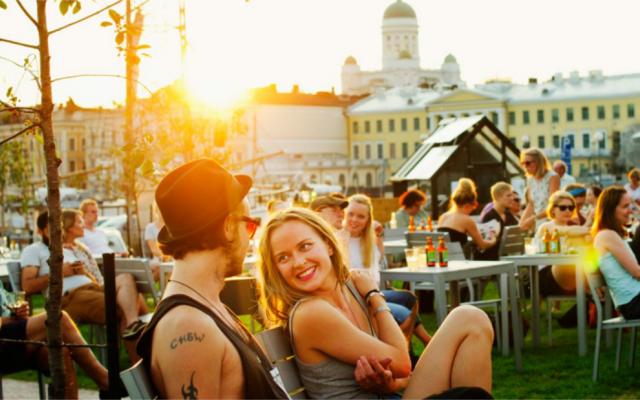 Finland Kalevala gin date spot