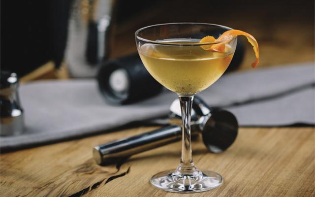 Gin cocktails from around the world orange twist