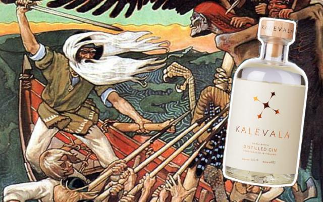 Kalevala gin viking finland roots