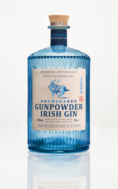 Drumshanbo Gunpowder Irish Gin bottle