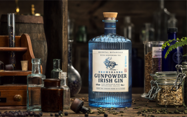 Drumshambo Gunpowder Irish Gin bottle