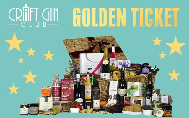 Craft gin club golden ticket winner hamper