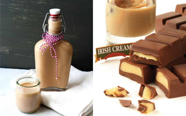 Irish cream liqueur bailey's