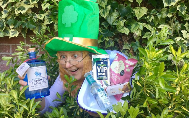 Leprechaun ginstagram winner march box