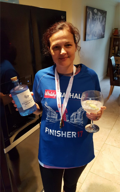 March ginstagram winner marathon gin and tonic