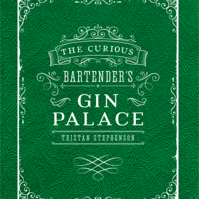Gin palace green background