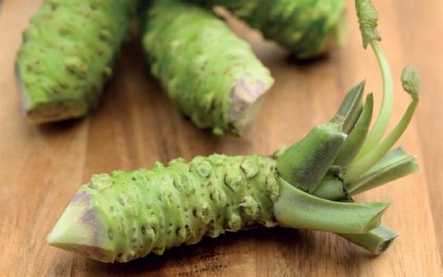 Green Wasabi peas